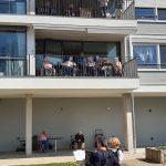 Balkonkonzert Seniorenzentrum
